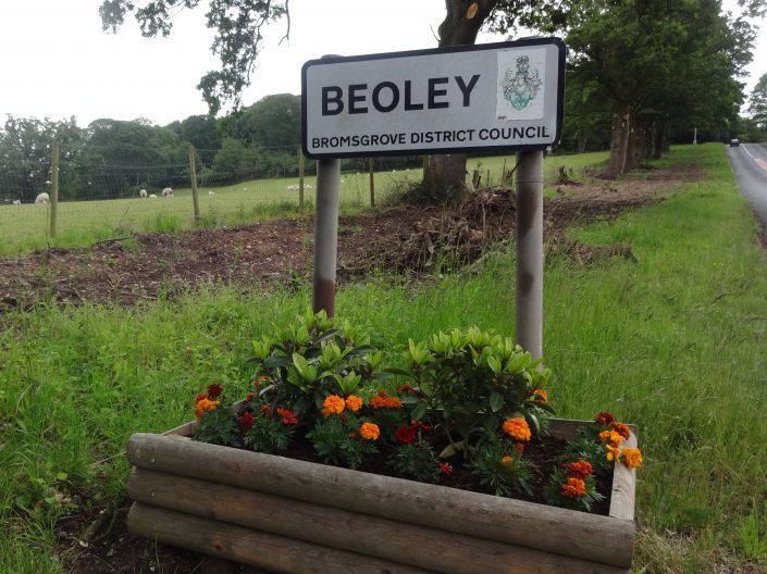 Beoley Sign